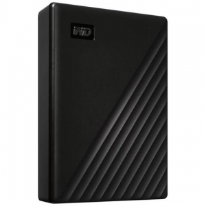 WESTERN DIGITAL 5TB My Passport, Hard Disk Portatile con Protezione Tramite Password e Software di Backup Automatico, Nero