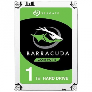 "SEAGATE Hard Disk Interno BarraCuda 1 TB 3.5"" Interfaccia Sata III 6 Gb / s 7200 rpm Buffer 64 MB"