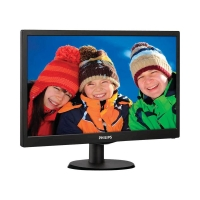 "PHILIPS Gaming Monitor 27"" 273V5LHAB Full HD, 1920 x 1080, 1ms, HDMI, DVI, VGA, Audio Integrato, Attacco VESA, Nero"