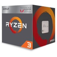 AMD Processore Ryzen 3 2200G Quad Core 3.7 GHz Socket AM4 Boxato con Scheda Grafica Radeon Vega 8