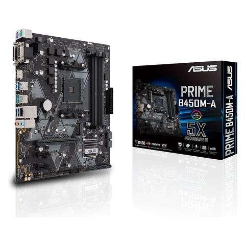 ASUS SCHEDA MADRE PRIME B450M-A SOCKET AM4 CHIPSET AMD B450