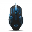 ESPERANZA EGM403B MX403 APACHE - WIRED 6D GAMING OPTICAL MOUSE USB - BLUE