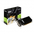 MSI GeForce GT 710 2 GB DDR3 Pci-E 2.0 DVI-D Dual Link / D-SUB / HDMI Low Profile