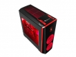 Natec Genesis PC case TITAN 700 RED MIDI TOWER USB 3.0 Senza Alimentatore